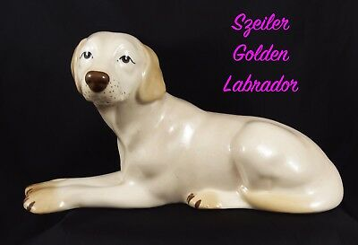 Lovely Vintage Szeiler Large Size Golden Labrador • 16.99£