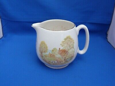 Collectable Vintage Nelson Ware Cream Jug/Pitcher H11cm Country Scene  • 9.99£