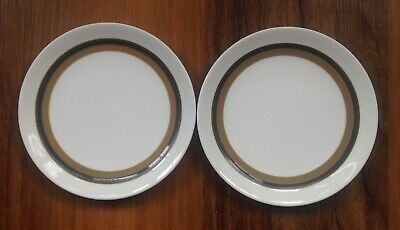 2 X Wedgwood Susie Cooper Everglade 6.5  Tea/side/bread & Butter Plates Excellen • 7.99£