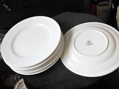 6 X Dinner Plates Simple White Elegance White Diamond Tara Hall Galway 11  • 12.50£