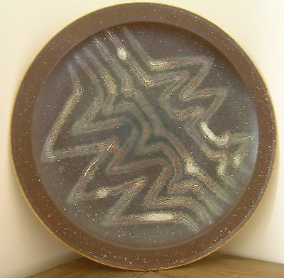 Large Iden Pottery Plate..signed • 27.99£