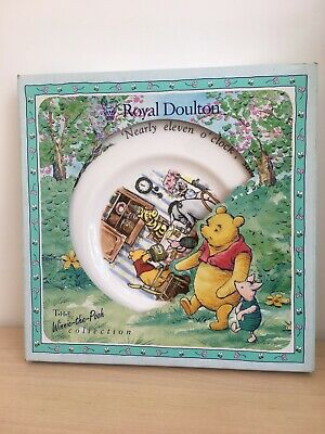 """Royal Doulton """"Winnie The Pooh Collection"""" - Porcelain Plate • 20£"""