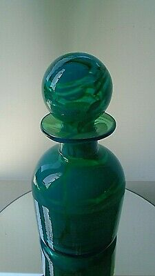 Vintage 1970s Mdina Glass Ming Pattern Decanter • 40£
