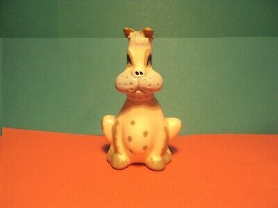 Unusual Szeiler Comical Dog Puffed Out Cheeks 2.75  Excellent Condition • 7£