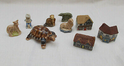 Job Lot Of Wade - Whimsies Turtle & Houses • 14£
