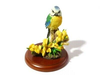 2000 Border Fine Arts A0407 Bluetit Studio Figurine Birds Russell Willis  • 22£