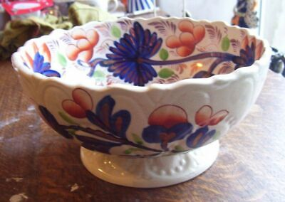 Gaudy Welsh Large Bowl A/f • 48£