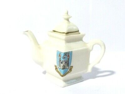Knaresborough Gemma Porcelain Crested China Square Teapot  • 18£