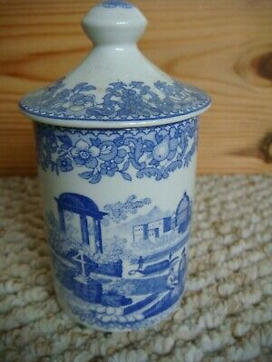 Spode The Blue Room Collection   Venetian Scenes  Useful Pot ! • 10£