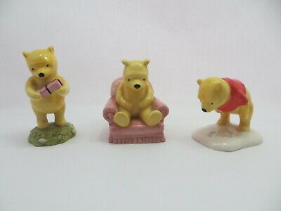 Official Royal Doulton Limited Edition Disney Figurines Pooh Or Dopey Ideal Gift • 79.99£