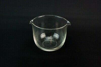 1900 Glass Cooler Rinser Monteith Ice Bowl Small Victorian Crystal Antique Retro • 24.99£