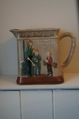Royal Doulton Seriesware Jug – Oliver Asks For More • 40£