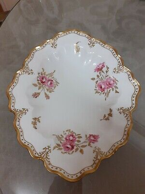 Royal Crown Derby  Pinxton Rose Oval Dish • 65£