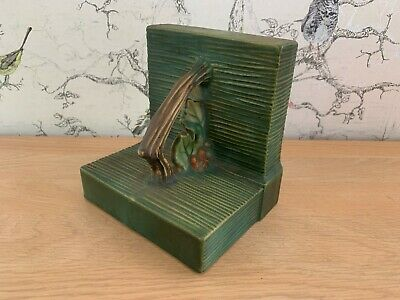 Roseville Usa Pottery Bookend - Free Uk P+p • 16£