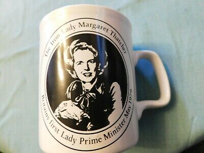Vintage Collectable Mug 1979 Margaret Thatcher Iron Lady & Iron Duke Wellington • 15£