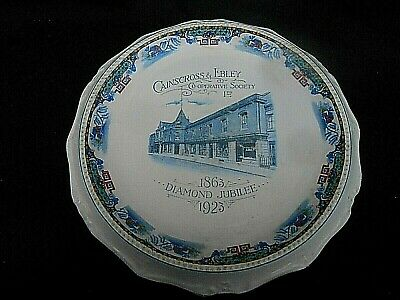 * CAINCROSS & EBLEY COOPERATIVE SOCIETY 1923 * Commemorative Platter STROUD Glos • 14.99£