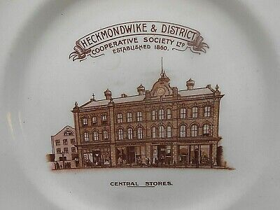 CWS Small ** HECKMONDWIKE COOPERATIVE SOCIETY ** Commemorative Plate • 19.99£