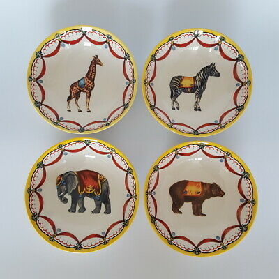 4 X Royal Stafford's Circus Collection Cereal Bowls Potteries NEW • 39£