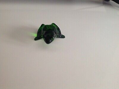 Lalique Leaping Frog Green • 65£