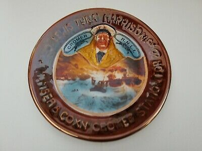 Great Yarmouth Pottery Plate Lewis  Tuna  Harrison • 5.50£
