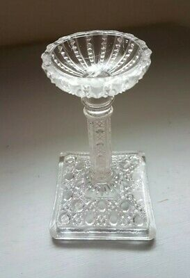Antique Glass Candle Stick Holder • 11.99£