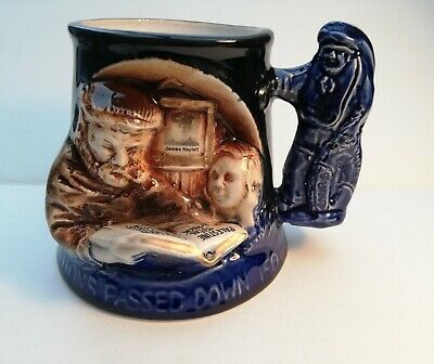 Great Yarmouth Pottery Tankard Traditions Passed Down 150 Years • 4.99£