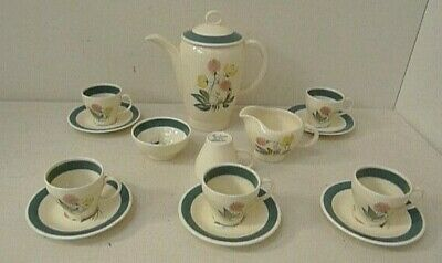 Vintage, Susie Cooper  Meadow Sweet  Coffee Set For 5 (2370) Good Condition • 75£
