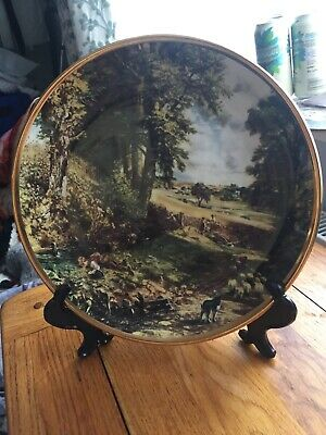 "John Constable Collectors Plate ""the Cornfield"" • 12£"