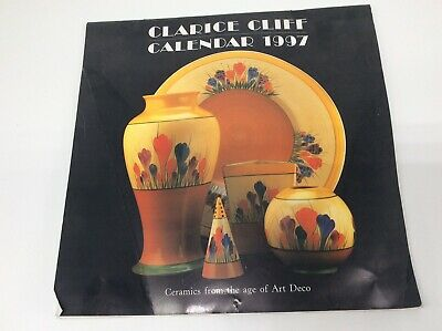 Vintage Clarice Cliff Calendar - Collectors Club - 1997 Only - Crocus Cover • 8.99£