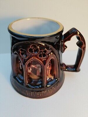 Great Yarmouth Pottery Tankard Norwich Cathedral 1096 - 1996 • 3.99£