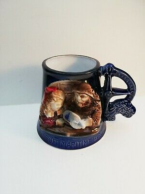 Great Yarmouth Pottery Tankard 'A Fair Wind For Smack Race Day' • 4.24£