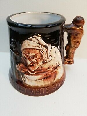 Great Yarmouth Pottery Tankard 'Marley Visits Scrooge' • 4.24£