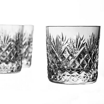 5 Large Heavy Whisky Old Fashioned Glasses Stuart Henley? Height 3+  • 14.99£