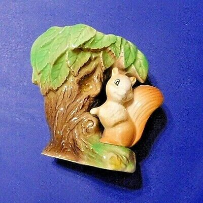 Beautiful EASTGATE Pottery  Fauna  Vase With Squirrel And Foliage Nr. 26 Perfect • 9£