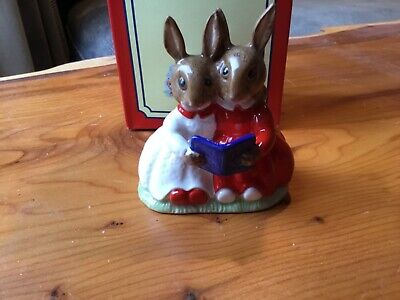 Royal Doulton Bunnykins PARTNERS IN COLLECTING DB151 Collectors Club Figure • 14£