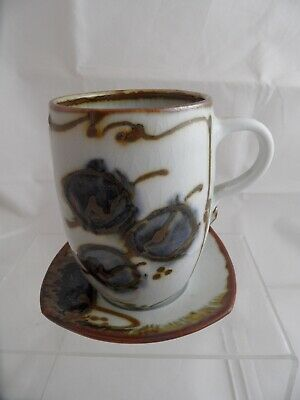 Anne Krog Ovrebo Cup And Saucer • 5.99£