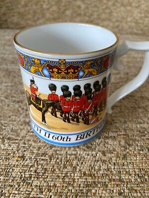 Sutherland Commemorative Mug Queen Elizabeth 11 60 Th Birthday • 12£