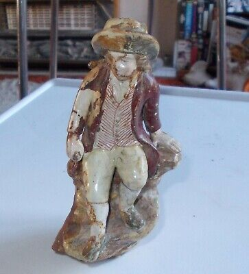 Pottery Figure Probably Staffordshire Early 19th Century Figure • 5£