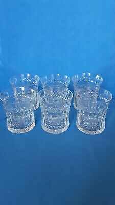 Set   6  Stuart  Crystal  Cut Whisky Tumblers • 24.99£