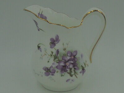Vintage Hammersley Victorian Violets Creamer/Pitcher Bone China • 33.13£