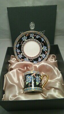 Wedgwood Bone China LUSCOMBE Coffee Cup / Can And Saucer • 19.99£