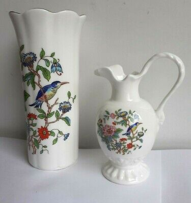 Aynsley Pembroke Bud Vase And Miniature Jug. 4 , 6  In Height. • 9.99£