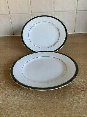 Boots Hanover Green - 2 X 16.5 Cm Side / Tea Plates • 7£