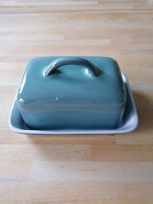 Denby Regency Green Butter Dish And Lid • 18£