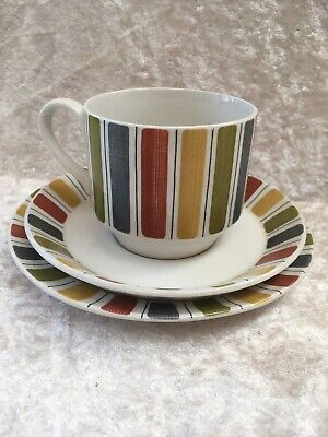 Vintage Midwinter Mexicana Cup Saucer Teaplate Trio • 7£