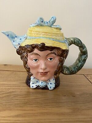 Vintage Beswick Dolly Varden Teapot Charles Dickens Character Hand Painted 1203 • 6.50£
