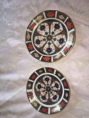 Royal Crown Derby Imari 1128 Plates Saucers • 27£