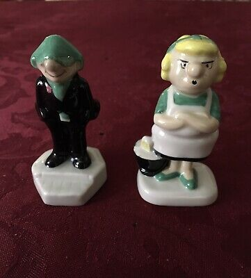 Wade Andy Capp And Flo Figures • 25£