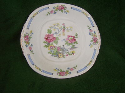 Lord Nelson.   Pottery T'sing     Vintage. Cake Plate With Handles.  • 14£