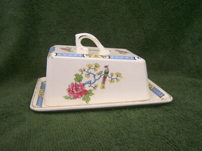 Lord Nelson. Pottery T'sing   Vintage.     CHEESE DISH COMPLETE WITH LID. • 26£